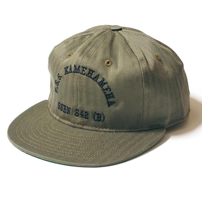 【予約】EBBETS FIELD FLANNELS ウエアハウス キャップ COTTON BASEBALL CAP U.S.S.KAMEHAMEHA ベースボールキャップ WAREHOUSE