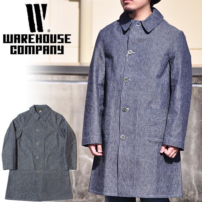 ff5f61964 WAREHOUSEware house shop coat Lot 2119 SHOP COAT men spring of 2018 summer  indigo 38/ ...