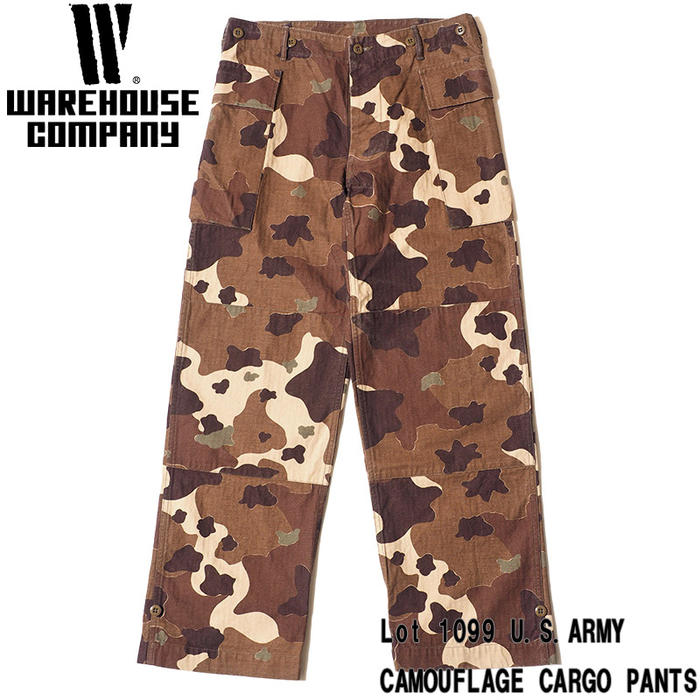 Firstadium Warehouse Cargo Pant Lot 1099 U S Army Camouflage Cargo