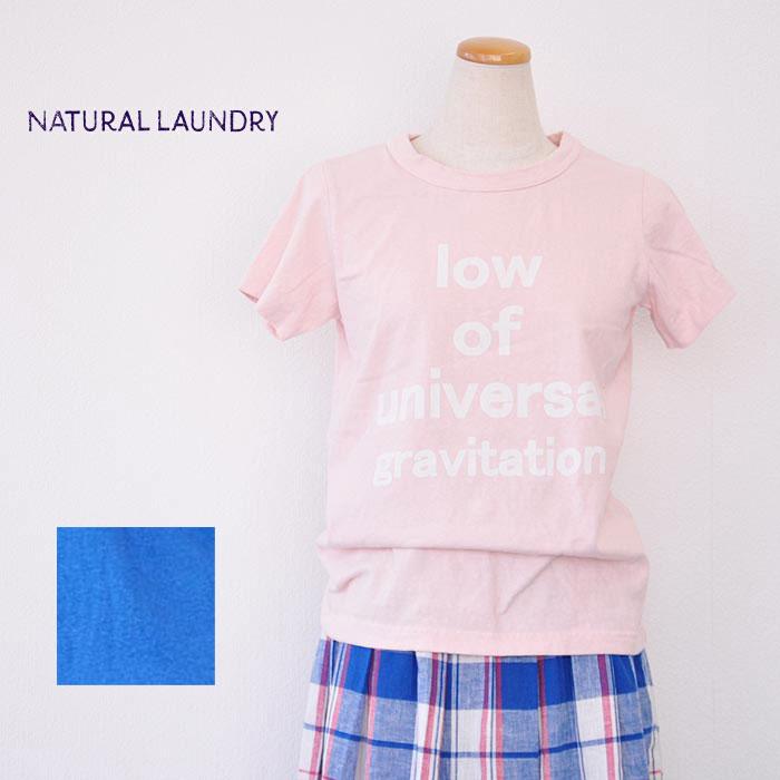 ナチュラルランドリー NATURAL LAUNDRY S.K 10W of T Tシャツ 半袖 カットソー 7171C-022