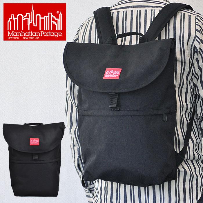 マンハッタンポーテージ リュック バックパック Jefferson Market Garden Backpack メンズ レディース 黒 MP1292 Manhattan portage