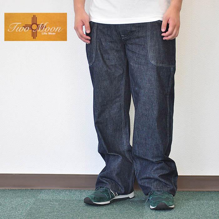 TWO MOON デニムデッキパンツ DENIM DECK PANTS lot546 メンズ 32/34 トゥームーン アメカジ