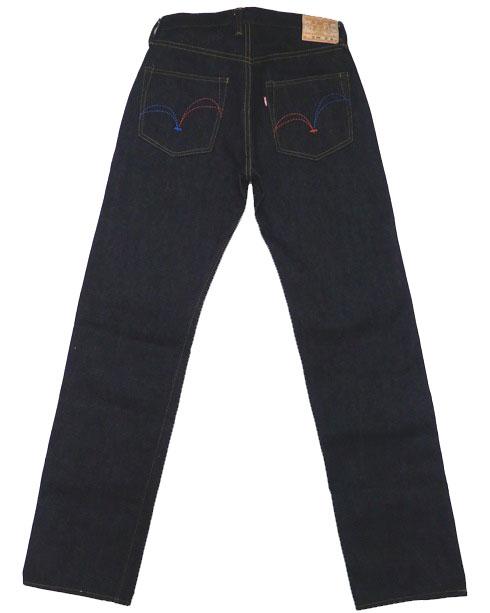 SAMURAI JEANS武士牛仔裤粗斜纹布S3000VX24oz-SGII关原24oz型号牛仔裤糖果舵