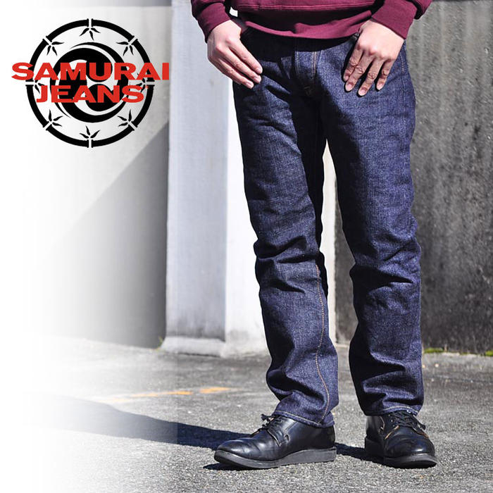 SAMURAI JEANS サムライジーンズ パンツ 15oz細身テーパードモデル S0511XX ワンウォッシュ サムライジーンズ