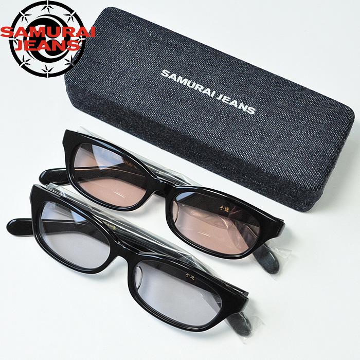 サムライジーンズ SAMURAI JEANS 掌 たなごころ コラボ サングラス アイウェア 眼鏡 メガネ SEW17-101 SEW17-102