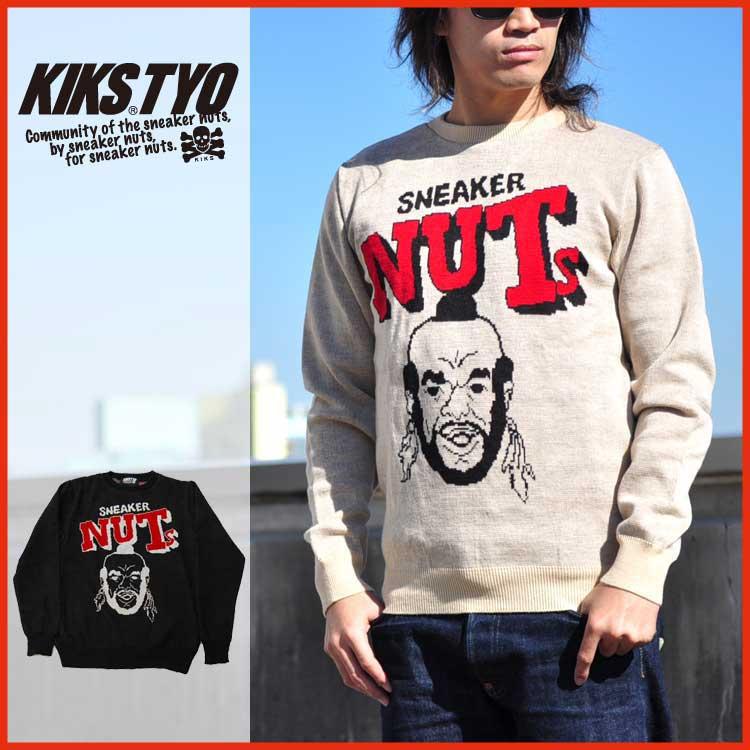KIKS TYO キックスティーワイオー セーター ニット NUTS SWEATER ストリート KT1408K-02 KIKS TYO キックス