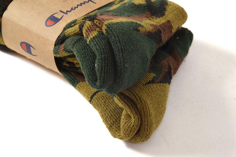 Champion champion socks full-length socks 2 p FULL LENGTH SOCKS camouflage