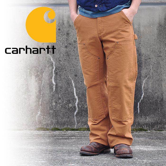 カーハート carhartt パンツ DOUBLE FRONT PANT ダック ペインターパンツ ワークパンツ ダブルニー B136