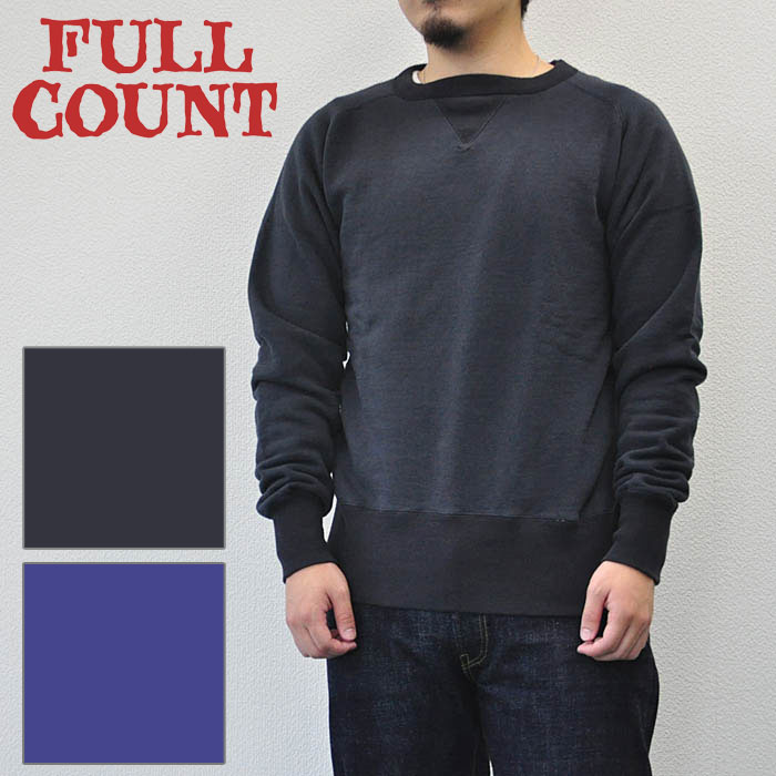 FULLCOUNT フルカウント TSURIAMI SWEAT SHIRTS スウェット メンズ 黒 25周年 3720EX