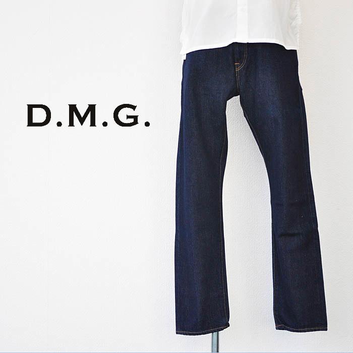 ドミンゴ D.M.G デニム 5Pテーパード デニムパンツ インディゴ Mサイズ レディース 13-805B