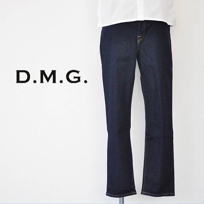 ドミンゴ D.M.G デニム 5Pアンクルスリムデニムパンツ インディゴ Mサイズ レディース 13-761D