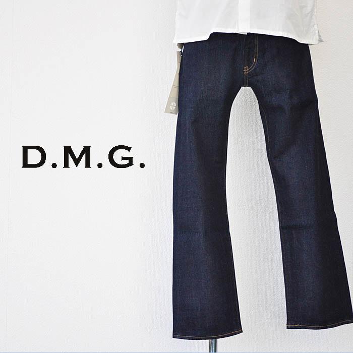 ドミンゴ D.M.G デニム 5Pセルヴィッジナローパンツ インディゴ Sサイズ レディース 13-816C
