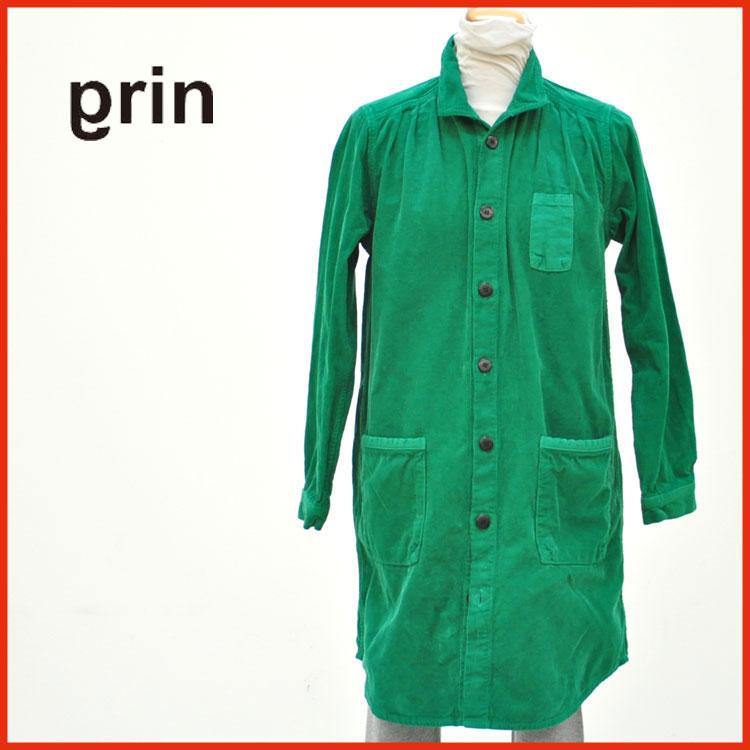 grin/グリン/ワンピース/コーディロイシャツワンピース/シャツ/シャツワンピース/レディース/アメカジ/grin/グリン/844O-05【送料無料】