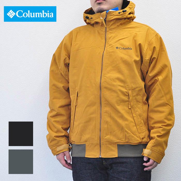 COLUMBIA コロンビア ジャケット ロマビスタフーディ Loma Vista Hoodie メンズ M-2XL 黒/茶/モス PM3396