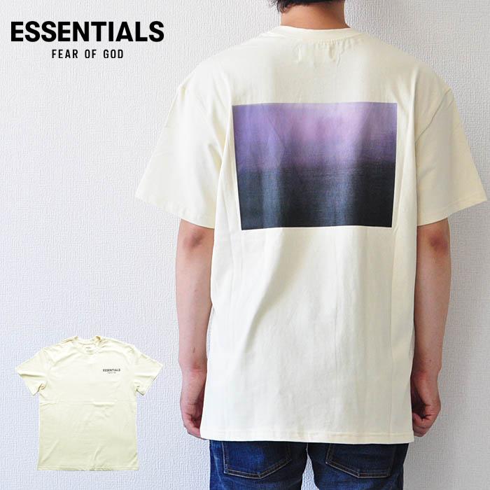 FOG ESSENTIALS エッセンシャルズ Tシャツ BOXY PHOTO T-SHIRT クリーム S-M Fear of God ストリート