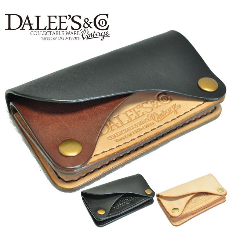 DALEE'S&CO/ダリーズ&コー/コインケース/CARRERA/カレラ/レザー/コイン&IDキャリー/グッズ/財布/アメカジ/DALEES/ダリーズ/DELUXEWARE/デラックスウエア/あす楽対応