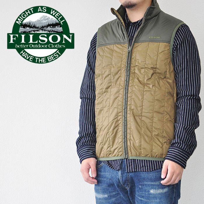 フィルソン Filson ULTRA LIGHT VEST ベスト 02999 メンズ アメカジ アウトドア 正規取扱店