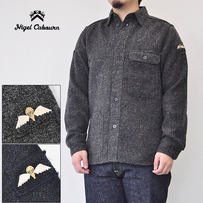 WASHABLE CREW WASHABLE WOOLLENS 2 COLORS MAIN LINE ナイジェル・ケーボン NIGEL CABOURN