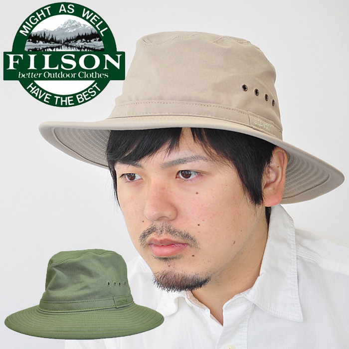 Filson Filson hat Summer Packer Hat summer packer hat 60030 beige green 0c2ce436548