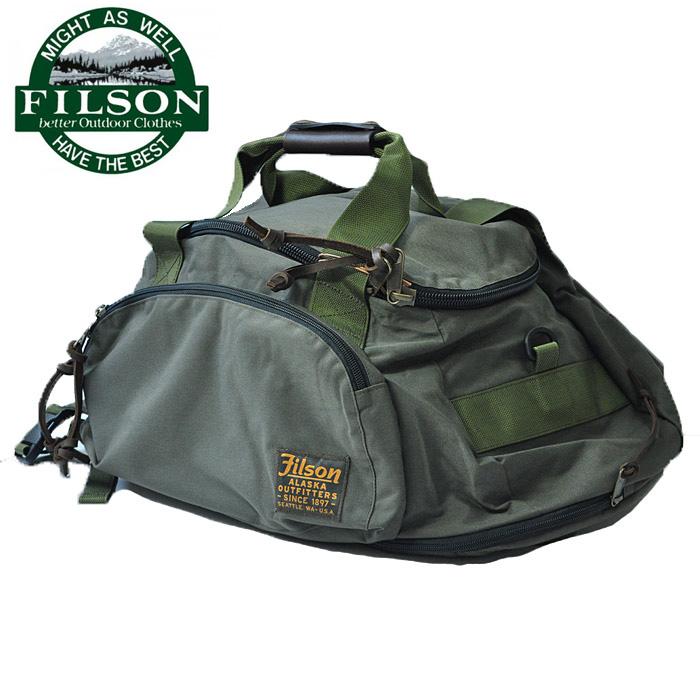 フィルソン FILSON ダッフルバッグ DUFFLE PACK メンズ オリーブ 46L 3way 19935
