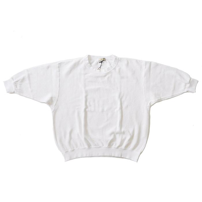 Tシャツ 181114 S-M Iroquois ニット 19年夏モデル PARALELED メンズ YARN イロコイ 白 30/2