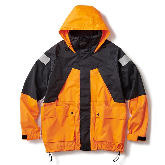 INTERBREED インターブリード ジャケット Antarctic Sailing Jacket オレンジ L-XL アウター IB18AW-32