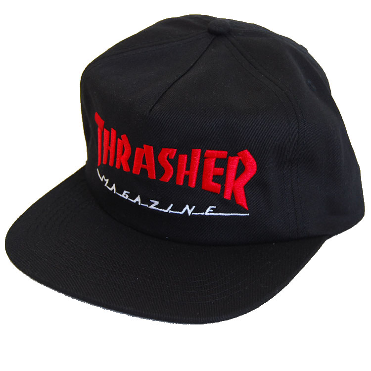 6ca16f618c0 firstadium  THRASHER slasher cap MAGAZINE LOGO TWO-TONE HAT hat ...