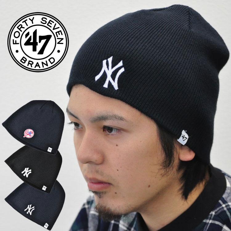 4db136a014ef2 47 47 Brand brand knit Cap New York Yankees BEANIE Hat Cap Beanie BIN17ACE  support