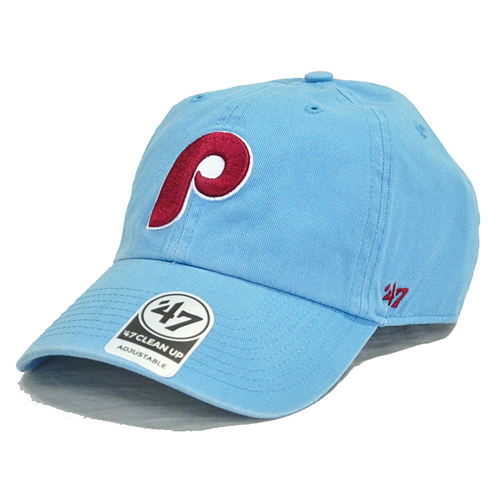 0f5110d4a84 47Brand 47 brand cap Phillies  47 CLEAN UP Columbia adjustable size blue  BCPTN-RGW19GWSNL-CO75