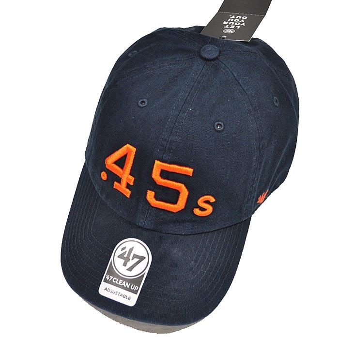 best service 46cf1 5f832 ... 47Brand 47 brand cap Astros  47 CLEAN UP adjustable size navy men gap  Dis BCPTN