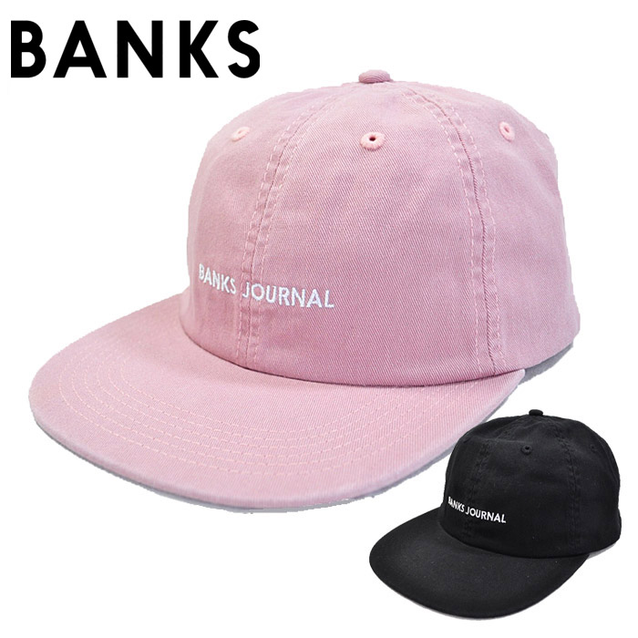 aebe6ba8e2b firstadium  BANKS Bankes cap LABEL HAT logo hat black pink surf ...