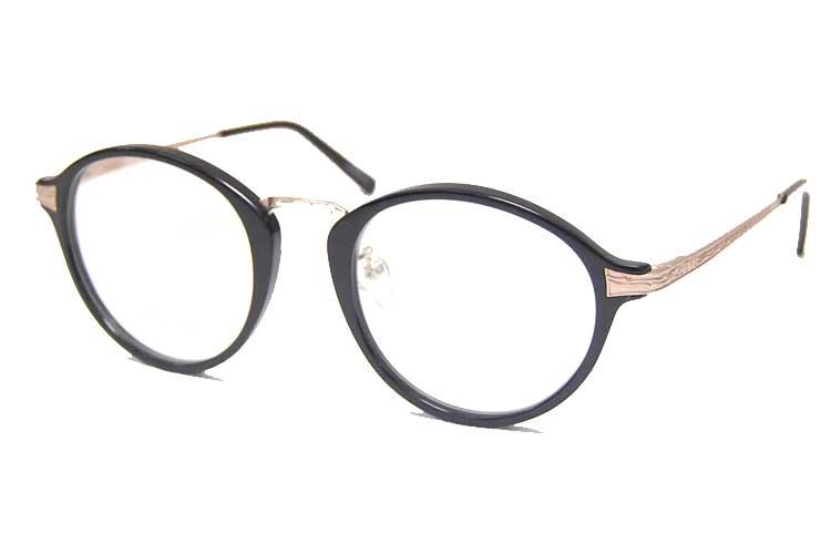 SABRE / Saber / sunglasses / FUDGE/GLOSS BLACK/GOLD METAL/CLEAR LENS /SABRE fudge Saber /SV226-112 J