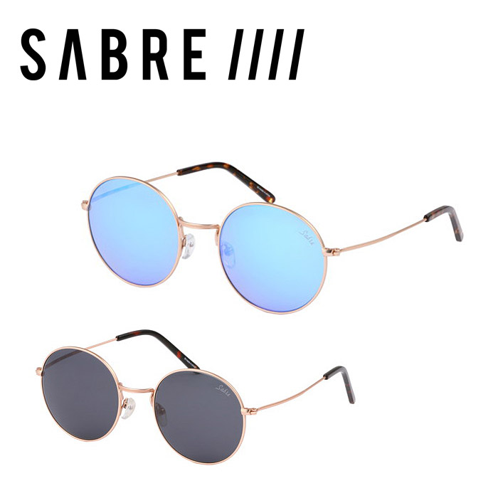 セイバー SABRE サングラス ジェレミー JEREMY MT GOLD METAL/GREY MT GOLD METAL/BLUE MIRROR SV260-1371J SV260-13726J