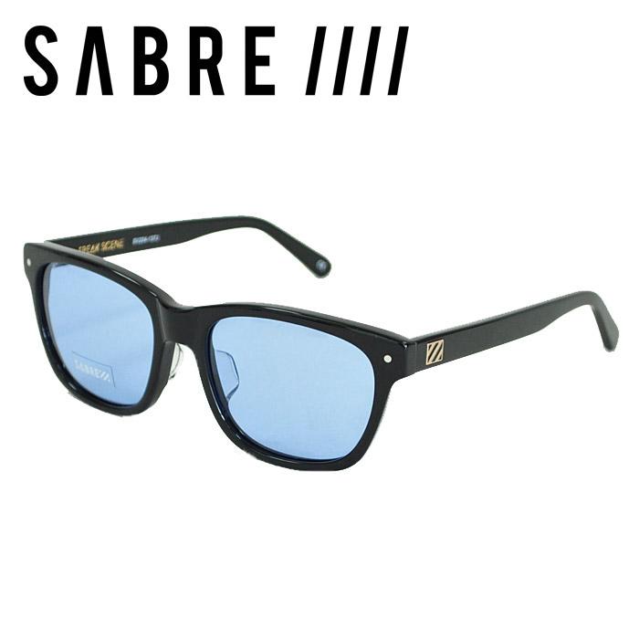 SABRE セイバー サングラス FREAK SCENE フリークシーン GLOSS BLACK/ LIGHT BLUE LENS ウェリントン ブルーレンズ メガネ SV204-137J