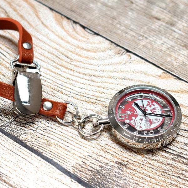 ナースじゃなくても欲しいかわいさ!  2021年 新作 リトルミイ スケルトンウォッチ ムーミン ナースウォッチ 携帯用 時計 Little-my