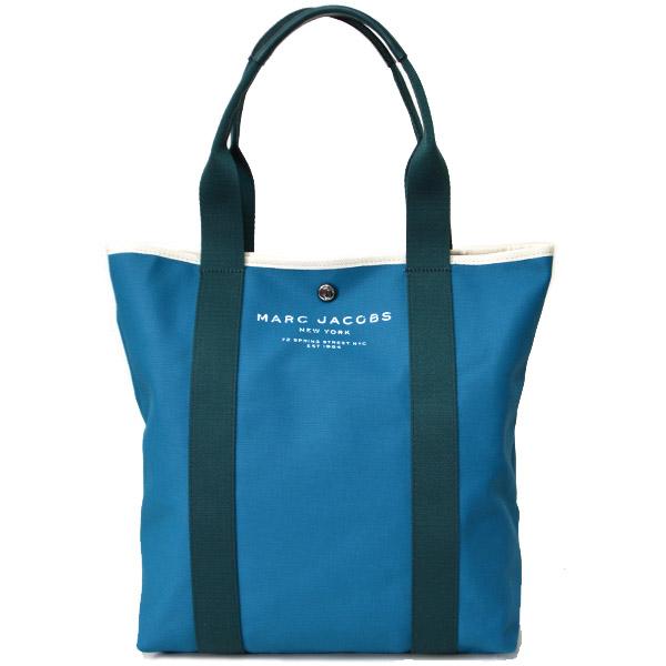 マークジェイコブス バッグ MARC JACOBS ナイロン パシフィック トートバッグ ショルダー ブルー M0010932【ブランド 新品 送料無料 誕生日 記念日 お祝い プレゼント 】