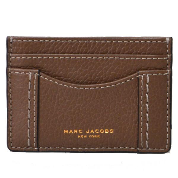 マークジェイコブス カードケース MARC JACOBS レザー スリム カードケース 名刺入れ ブラウン M0009560【ブランド 新品 送料無料 誕生日 記念日 お祝い プレゼント 正規 人気 レディース 安心 保証 ギフト 10倍】