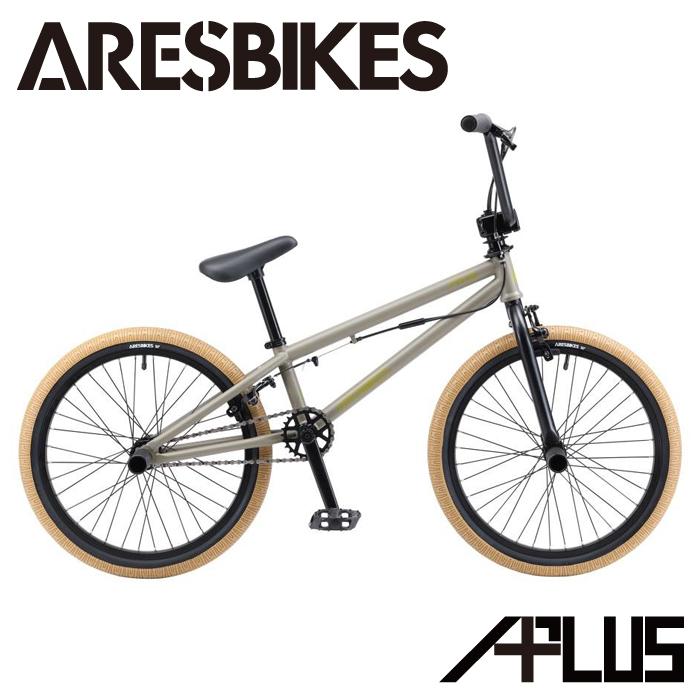 2020年モデル BMX ARESBIKES アーレスバイク APLUS アプラス フラットランド 20インチ マットオリーブ【完全組立】