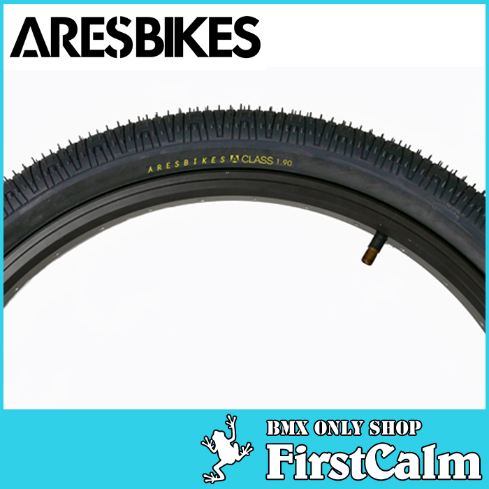 【BMXパーツ】5本セット ARESBIKES アーレスバイク A-CLASS TIRE 125psi 20x1.90 BLACK