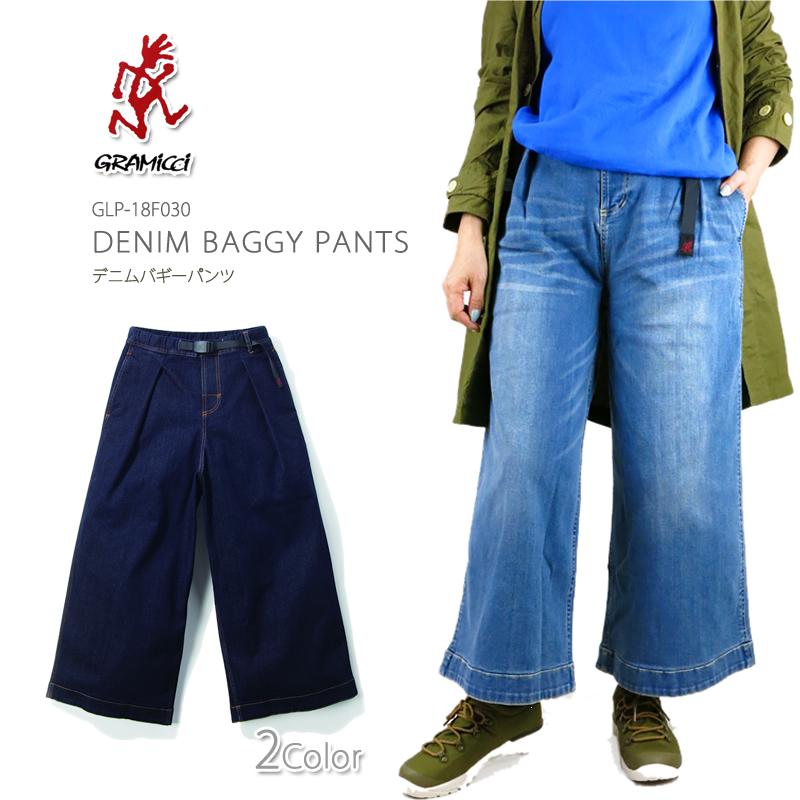 【NEW】GRAMICCI グラミチ GLP-18F030 DENIM BAGGY PANTS デニム バギー パンツ レディース