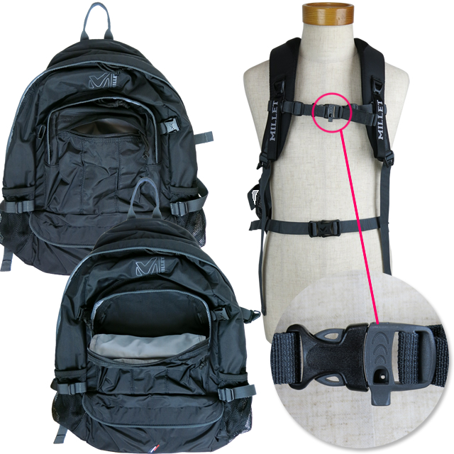 MILLET Millet MIS0584 MARCHE 20 MARCHE 20 MARCHE rucksack backpack day pack 20L