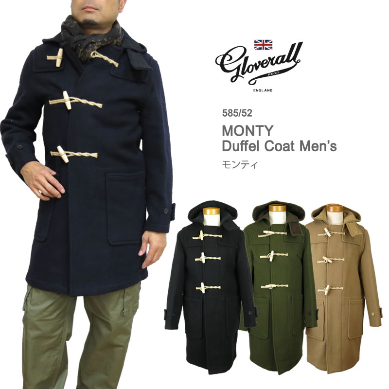 【10%OFF!】【正規代理店商品】グローバーオール ダッフルコート Gloverall 585/52 MONTY モンティ メンズ
