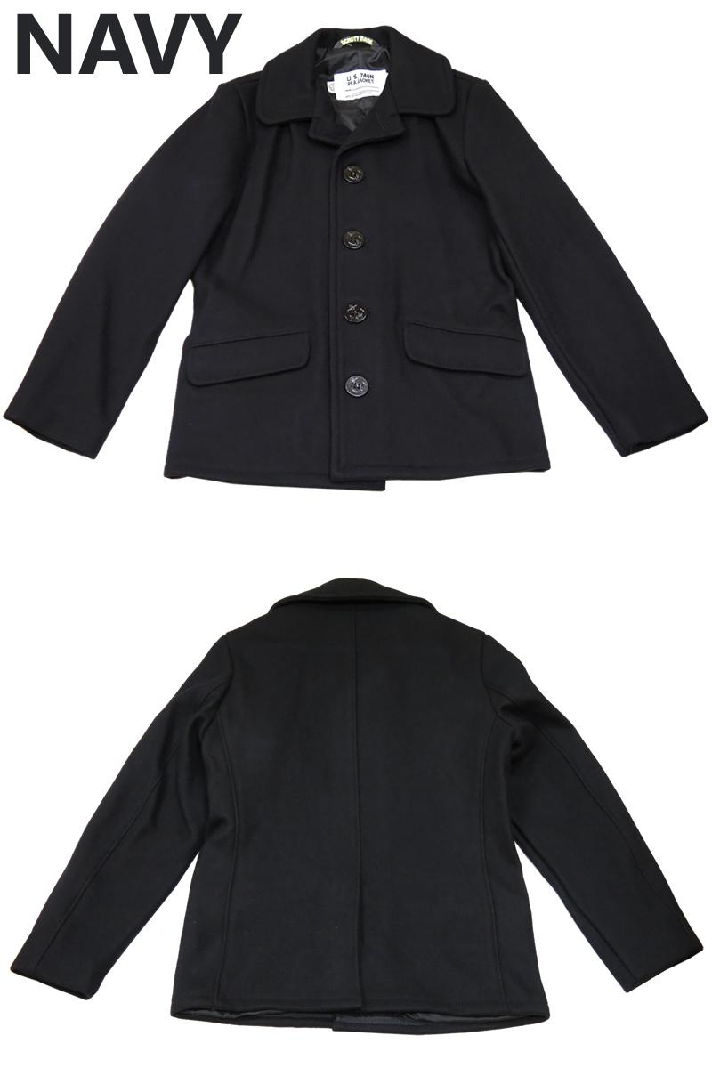 肖特射达到顶峰 756 美国 (7178) 单一豌豆大衣单麦尔登羊毛冬天 シングルピー 外套秋冬 2013年夹克外套 P 外套