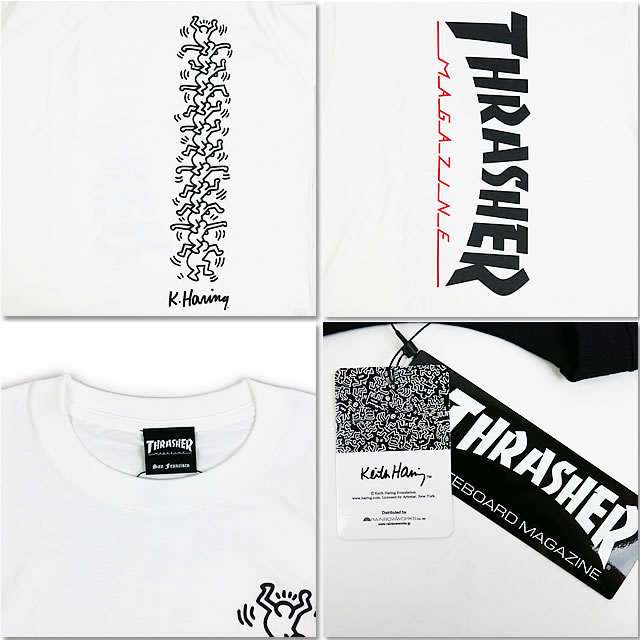e607ff03e ... It is a ring collaboration T-shirt to THRASHER slasher THKH-ST18  THRASHER X