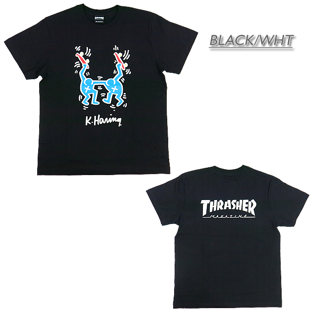 e1f8159ea ... It is a ring collaboration T-shirt to THRASHER slasher THKH-ST18  THRASHER X ...