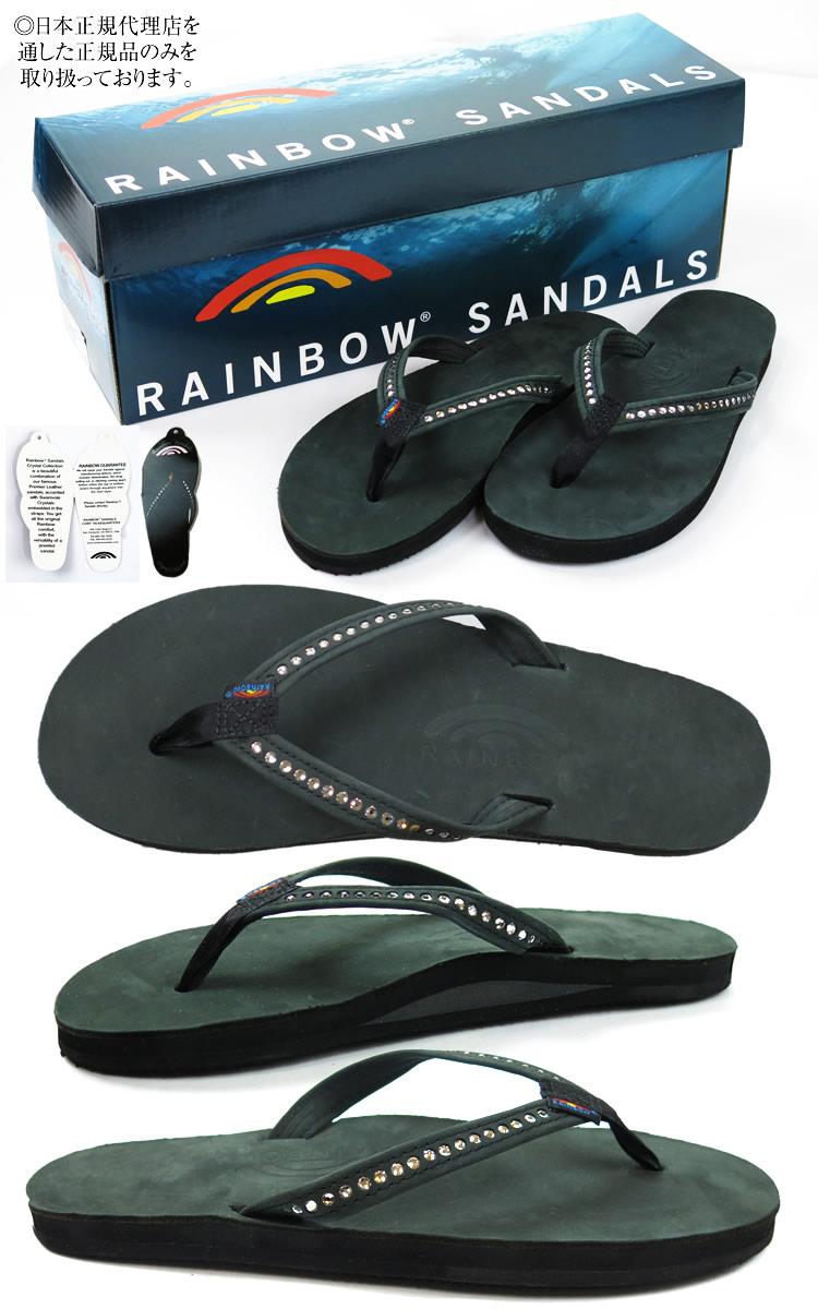 65c8486433e5 RAINBOW SANDALS rainbow sandals 401ALTSN swarovski Swarovski beach sandal  sandals Lady s