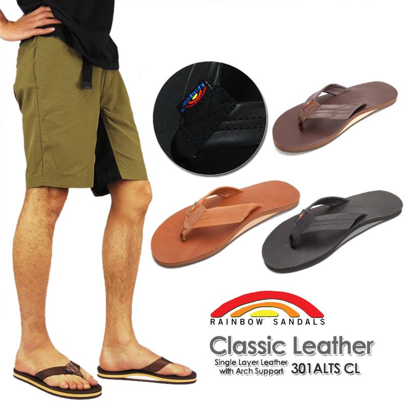 8c4175da10fc FIRST LINE  RAINBOW SANDALS rainbow sandals 301ALTS CL classical ...