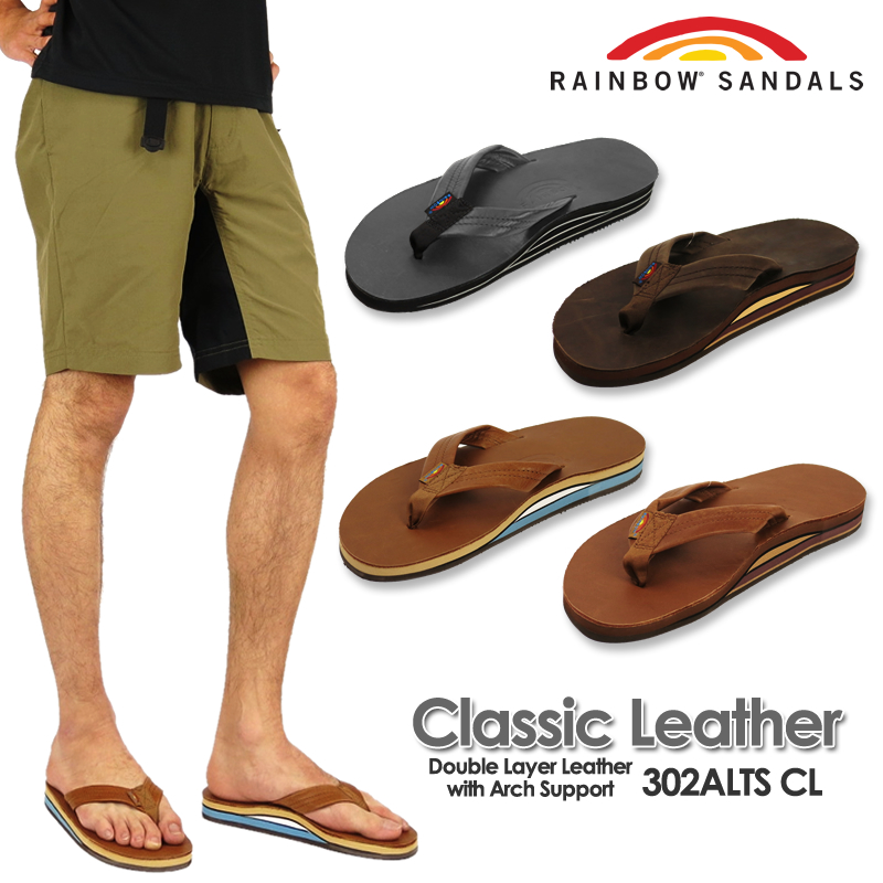 42ef69c21 FIRST LINE  RAINBOW SANDALS rainbow sandals 302ALTS CL classical ...