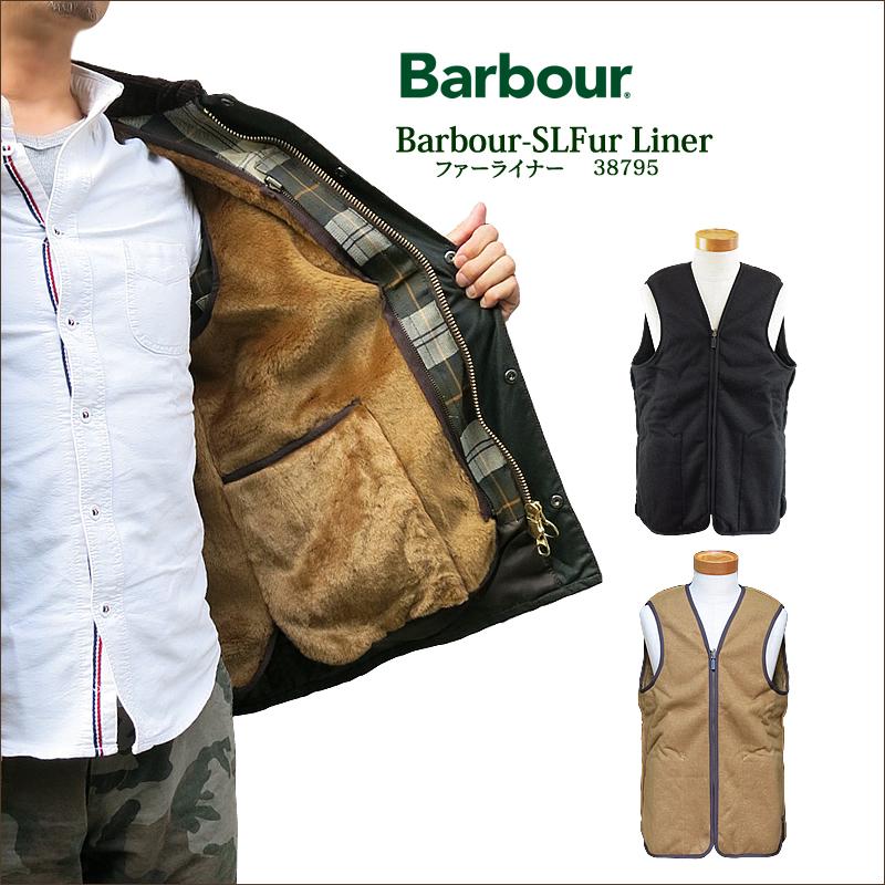 【NEW】【正規代理店商品】Barbour バブアー 38795 FUR LINER ファー ライナー ベスト メンズ バーブァー ビデイル SL