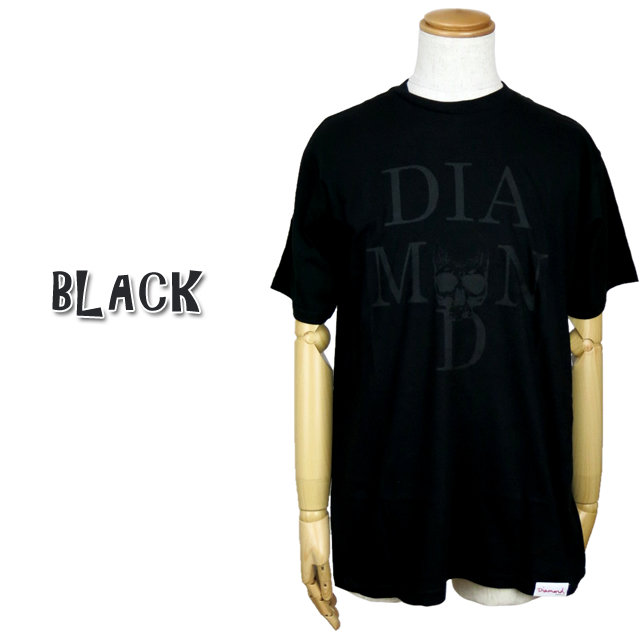diamond supply co diamond supply A17DMPA12 SKULL TEE scull T-shirt